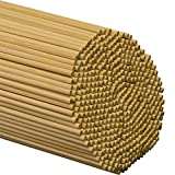 Wooden Dowel Rods 1/4' x 12' - Bag of 100
