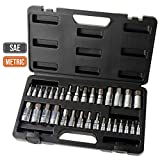 Hi-Spec 12pc 1/4' Metric Socket Set with 72 Teeth Ratchet Drive Socket Handle with Quick Release Function, 5-14mm Socket Sizes & 100mm Extension Bar with Convenient Storage Rack Multi-Socke