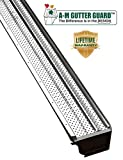 A-M Aluminum Gutter Guard 5' (200', Mill Finish)