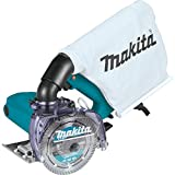 Makita 4100KB 5' Dry Masonry Saw, with Dust Extraction