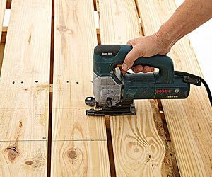 HG Blog showing you how to cut a wooden board