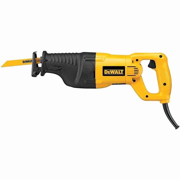 DEWALT 12 Amp Heavy-Duty Reciprocating Saw Kit