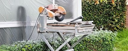 Set Up a Tile Saw