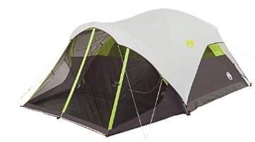 tent with screen room
