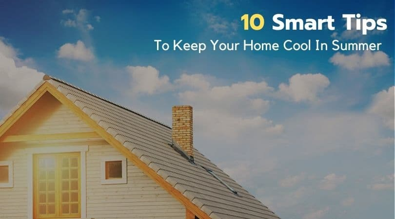Home cooling tips