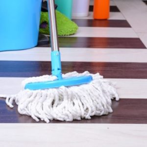 clean linoleum floors